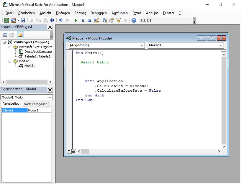 VBA ausführen beim Öffnen eines Excel AddIn - VBA-Hexerei